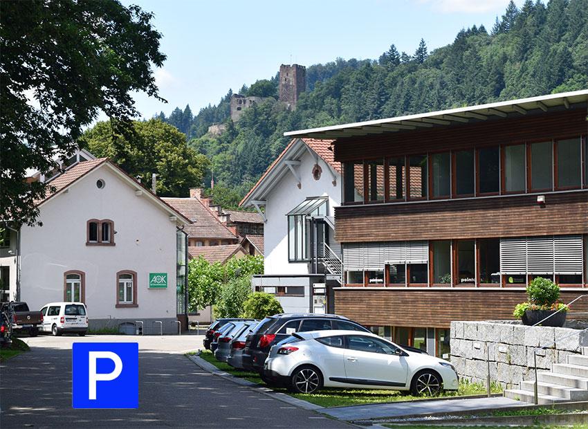 Dr. med. Arne Klünsch Parkplätze