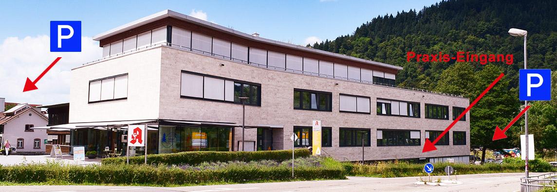 Praxisgebäude Waldkirch